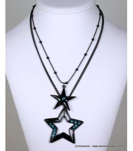 collier constellation bleu