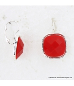 Boucles d'Oreille Punchy rouge