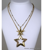 collier constellation doré