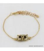 Bracelet vintage hibou