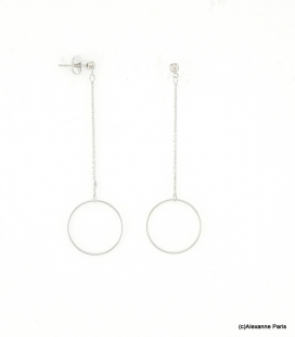 Boucles d'oreilles Tombantes Mélanie