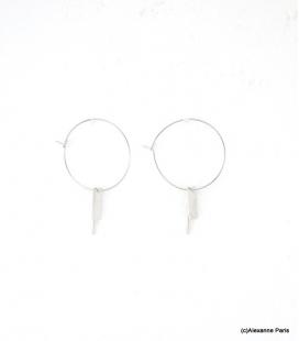 Boucles d'oreilles Créoles Margaux