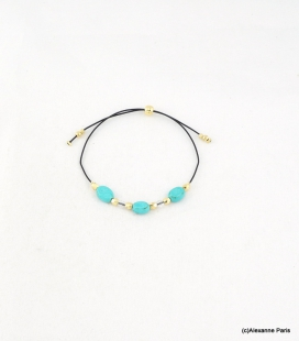 Bracelet Perles Marine