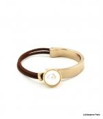 Bracelet Élastique Myriam Marron