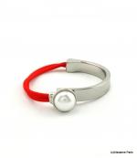 Bracelet Élastique Myriam Rouge