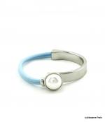 Bracelet Élastique Myriam Bleu Ciel