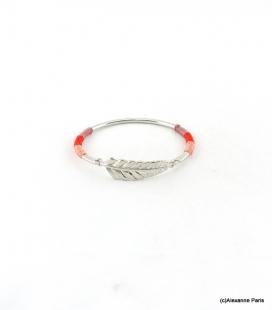Bracelet Jonc Feuille Joyce