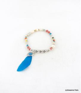 Bracelet Elastique Perles Aline