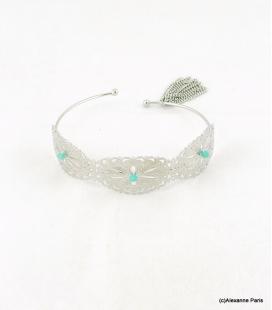 Bracelet Jonc Broderie Anne-Laure