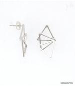 Boucles d'oreilles Triangles Laurine