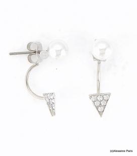 Boucles d'oreilles Dessous de Lobe Céline