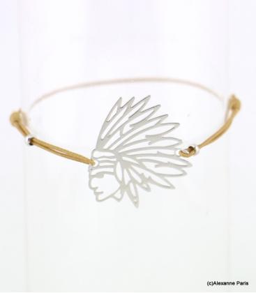Bracelet Indien Melissa Beige