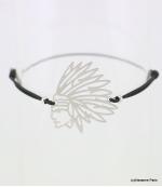 Bracelet Indien Melissa Noir