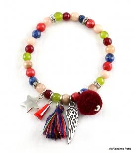 Bracelet Elastique Jade