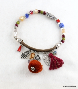 Bracelet Pompon Arbre Anne
