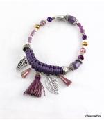 Bracelet Corne Abondance Mia Violet