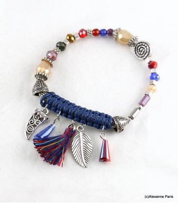 Bracelet Corne Abondance Mia Multi Couleurs