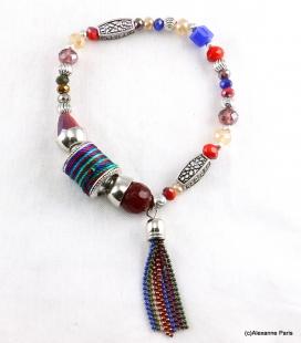 Bracelet Elastique Perles Doriane