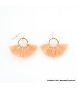 Boucles d'oreilles Pompon Pénéloppe