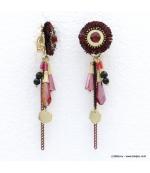 Boucles d'oreilles bohème hippie Taliya
