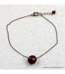 bracelet à la perle
