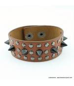 Bracelet clou cone spike