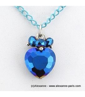 collier Coeur de Cristal