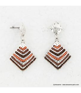 Boucles d'oreillle Incas