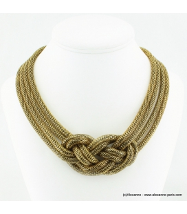 Collier antique doré