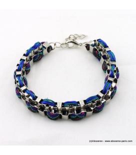 bracelet ethnique rock